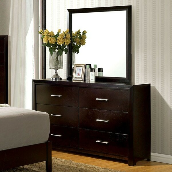Kinzie 6 Drawer Double Dresser by Wrought Studio