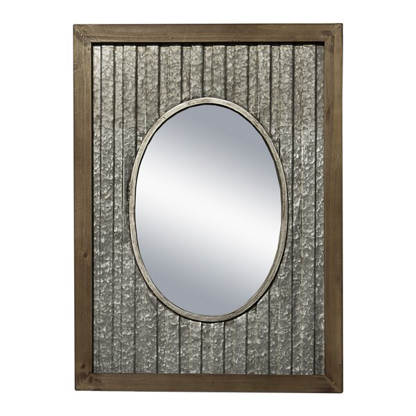Wetzler Accent Mirror by Gracie Oaks