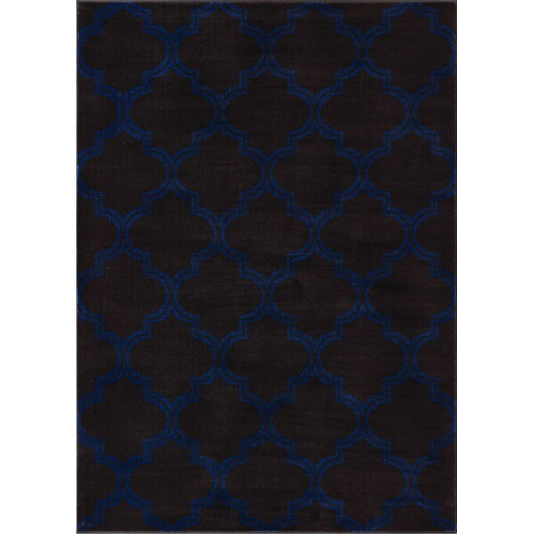 Abramowitz Charcoal Area Rug by Charlton Home