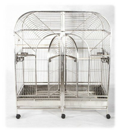 Double Macaw Bird Cage by A&E Cage Co.
