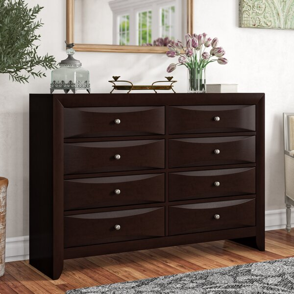 Archer 8 Drawer Double Dresser by Latitude Run