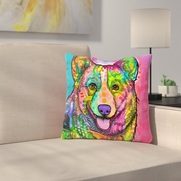 Welsh Corgi Throw Pillow by East Urban Home