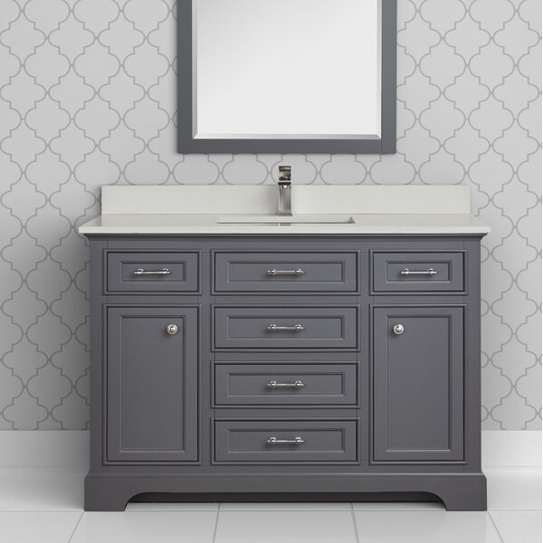 Seraphine 49 Single Bathroom Vanity Set by Alcott Hill