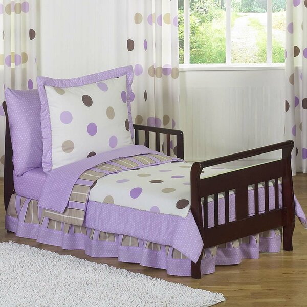 Mod Dots 5 Piece Toddler Bedding Set by Sweet Jojo Designs