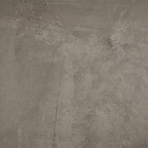 Slate Attaché 24 x 24 Porcelain Field Tile in Meta Dark Gray by Daltile