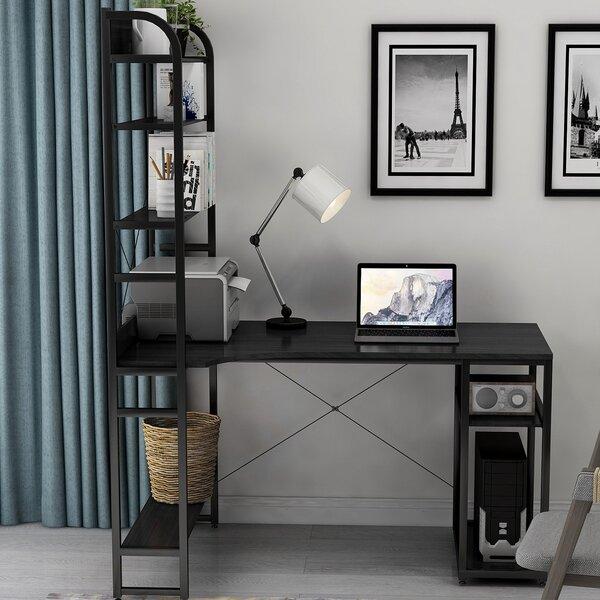 Beckon L-Shape Desk with Hutch