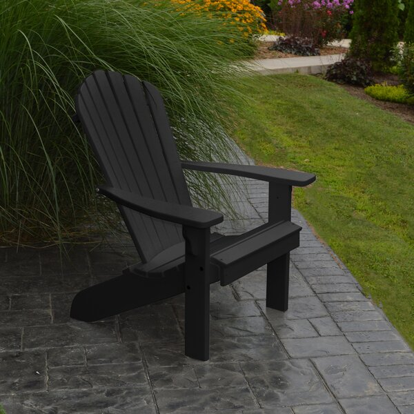 Analia Plastic Adirondack Chair by Beachcrest Home Beachcrest Home