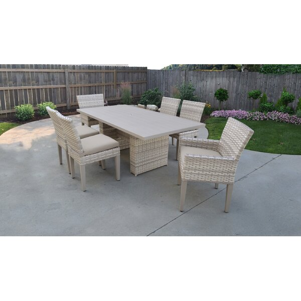 Waterbury 7 Piece Dining Set with Cushions