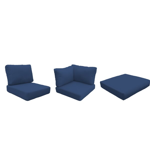 Waterbury 14 Piece Indoor/Outdoor High Back Cushion Cover Set by Sol 72 Outdoor Sol 72 Outdoor