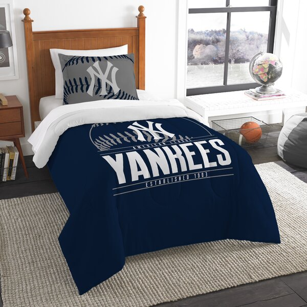 MLB Grand Slam 2 Piece Twin Comforter Set by Northwest Co.