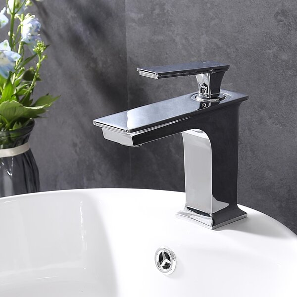 Square Vessel Sink Bathroom Faucet