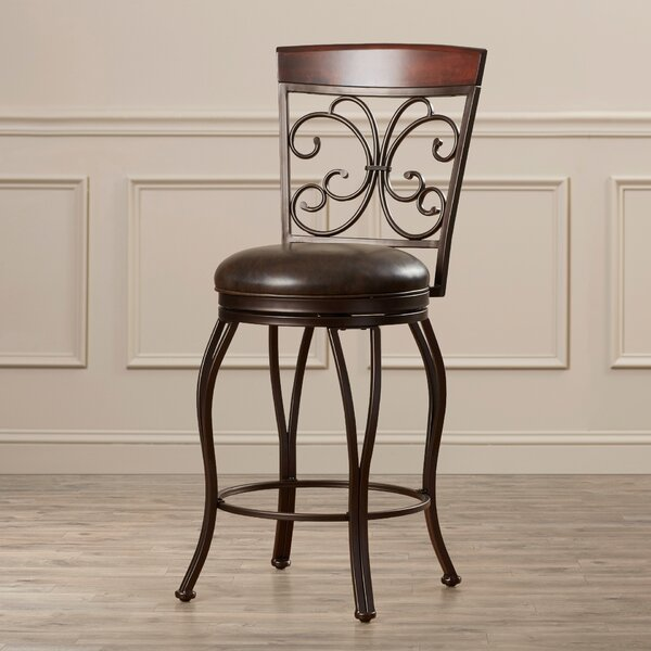 Waller 30 Swivel Bar Stool by Darby Home Co