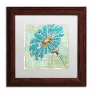 'Spa Daisies II' by Chris Paschke Framed Painting Print by Trademark Fine Art