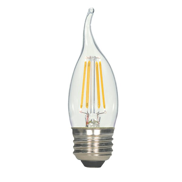 4.5W E26 Medium LED Vintage Filament Light Bulb by Satco