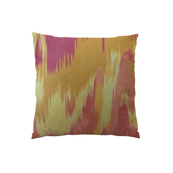 Olavanna Ikat Throw Pillow by Plutus Brands