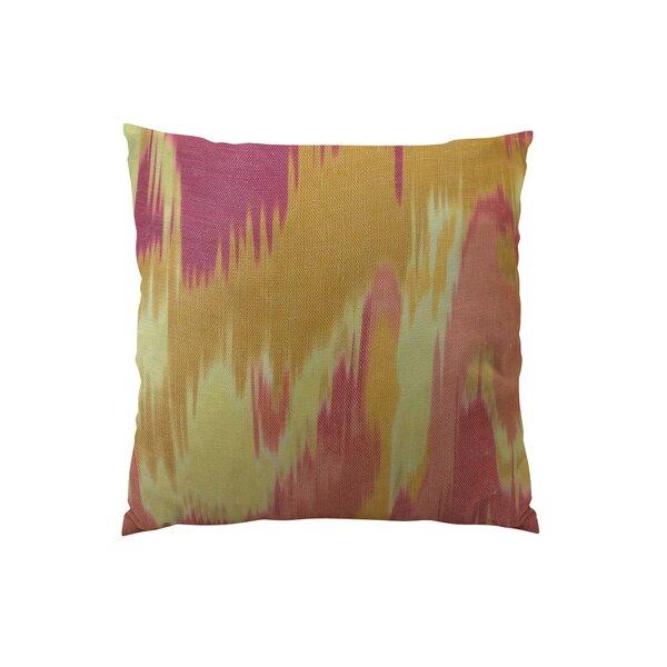 Olavanna Ikat Throw Pillow by Plutus Brands