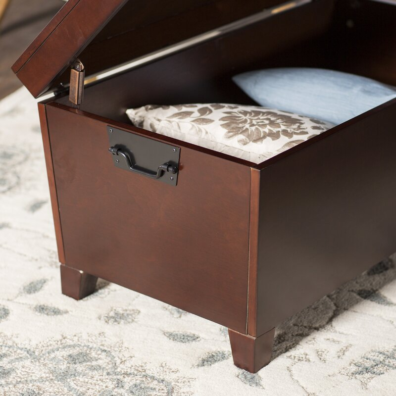 Extra Large Storage Trunk Coffee Table: Charlton Home Bischoptree Storage Trunk Coffee Table