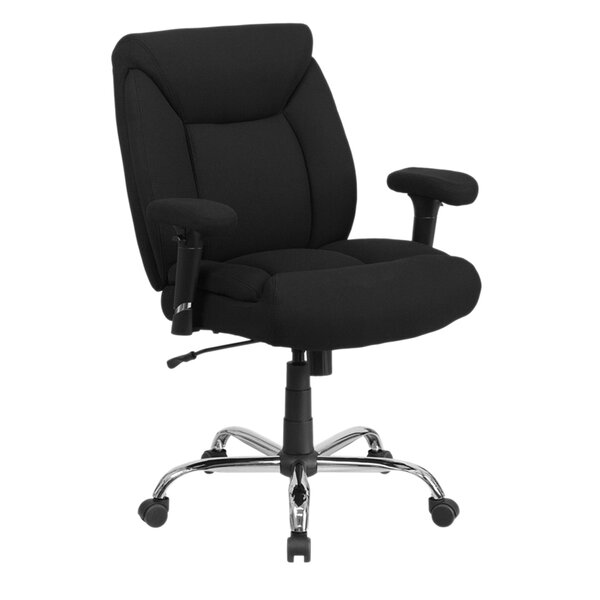 Ash Swivel Task Mid-Back Executive Chair by Latitude Run