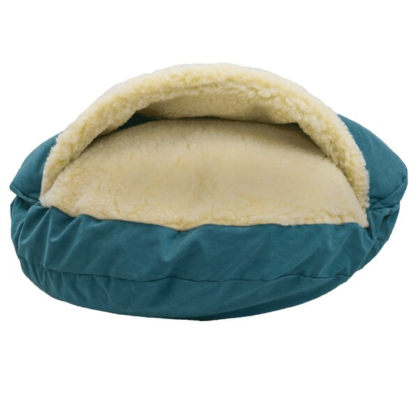 Luxury Cozy Cave Hooded/Dome Dog Bed by Snoozer Pet Products