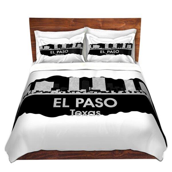 City IV El Paso Texas Duvet Cover Set