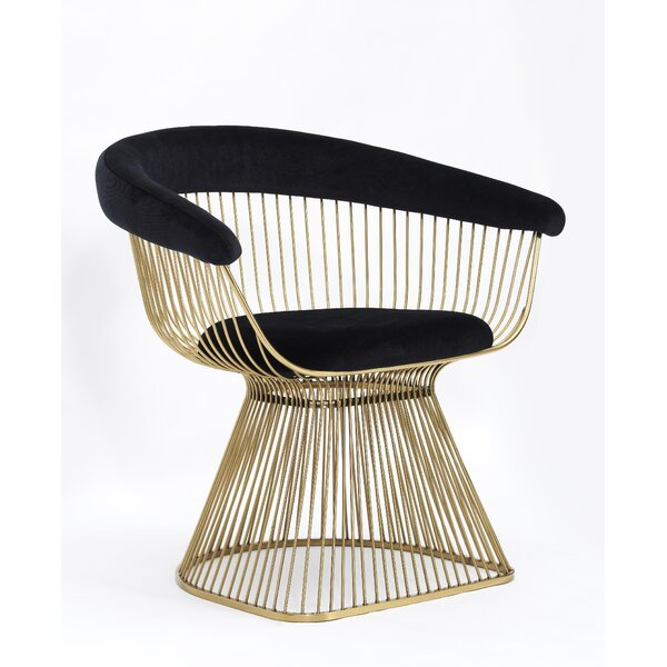 Maryjo Upholstered Dining Chair by Everly Quinn