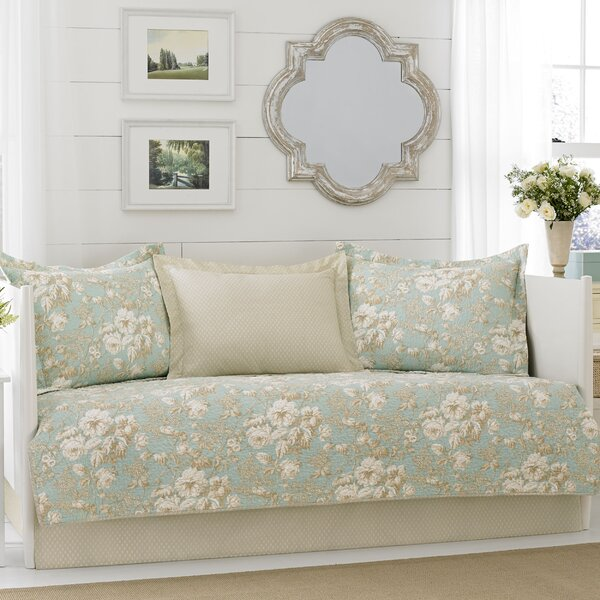 Brompton 5 Piece Reversible Quilt Set by Laura Ashley Home