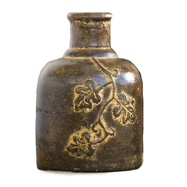 Tabletop Chimenea Ceramic Lantern by Plow & Hearth