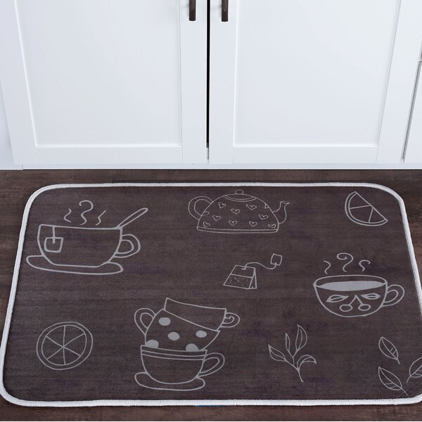 Witte Tea Foam Core Bath Rug by Winston Porter