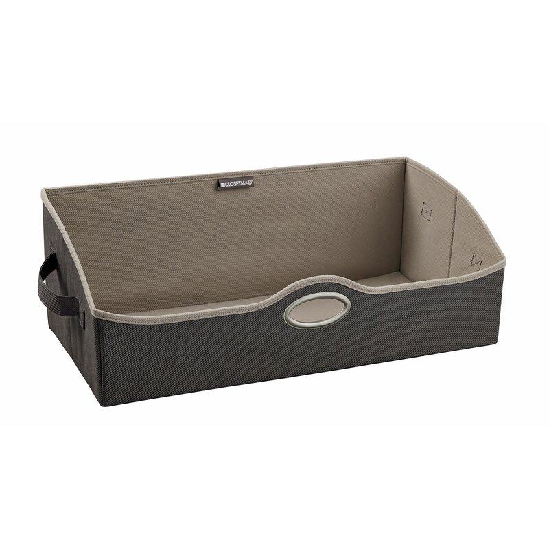 Large Fabric Storage Bin  sc 1 st  Wayfair & ClosetMaid Large Fabric Storage Bin u0026 Reviews | Wayfair