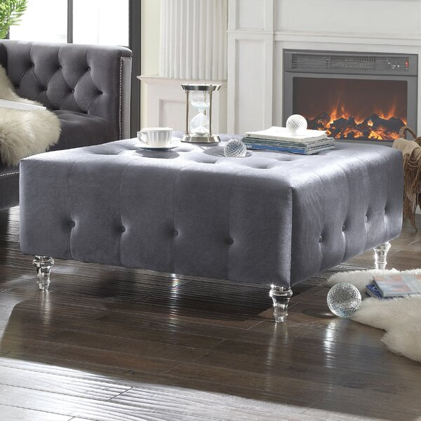 Samson Cocktail Ottoman by Chic Home Furniture
