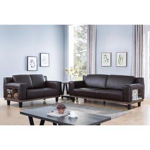 Ermonela 2 Piece Living Room Set by Latitude Run®