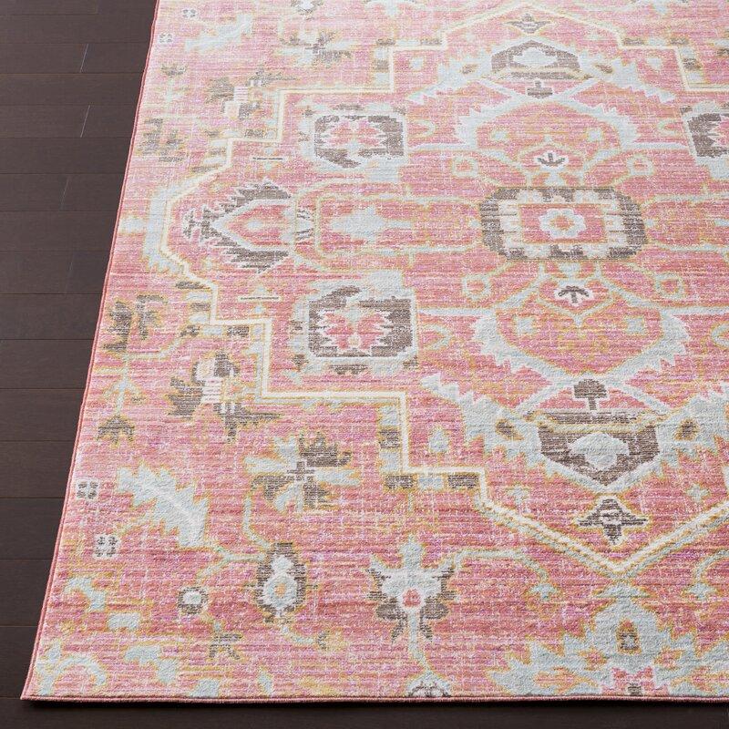Wayfair All Modern: Mistana Fields Pink Area Rug & Reviews