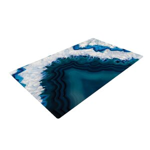 Geode Photography Nature/Blue Area Rug