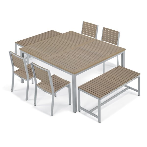 Laskowski 7 Piece Dining Set by Latitude Run