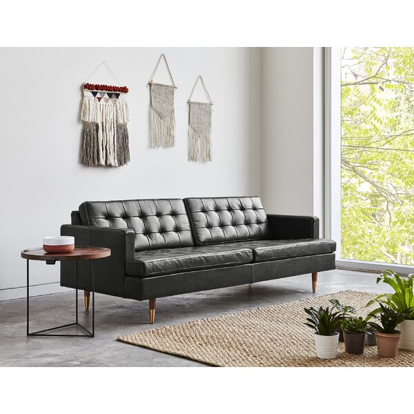 Archer Leather Sofa by Gus* Modern