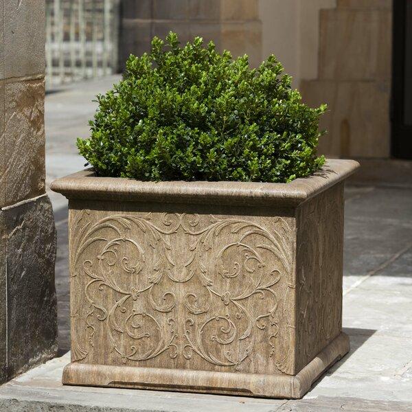 Vernetta Square Cast Stone Planter Box by Darby Home Co