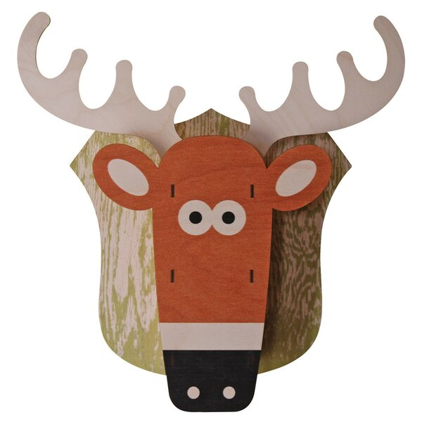 Deer 3D Wall Decor by Modern Moose
