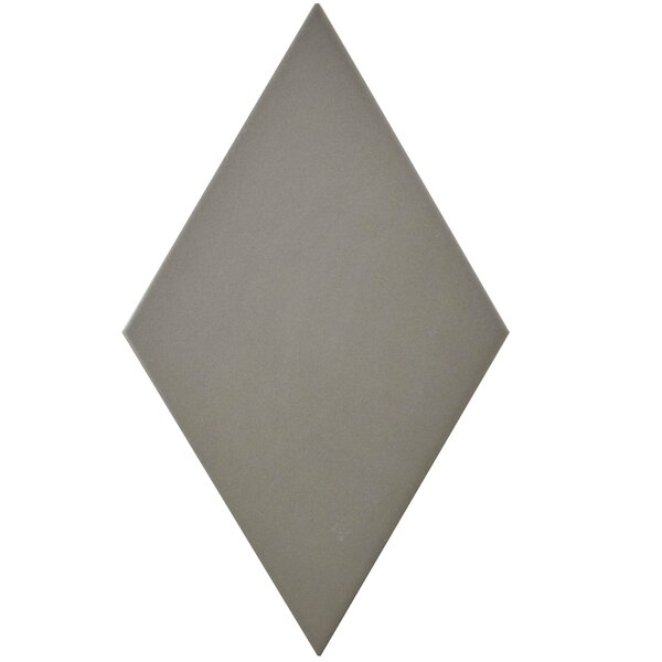 Ronbo 5.5 x 9.5 Porcelain Field Tile in Gray by EliteTile