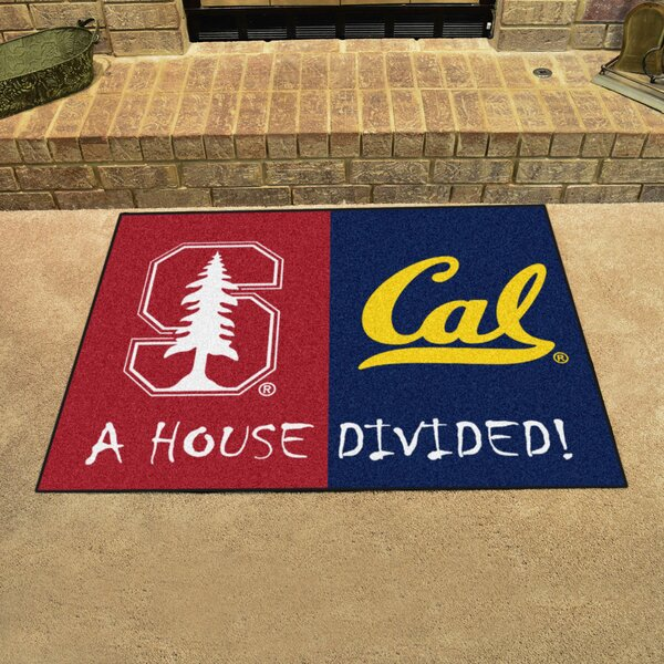 House Divided - Stanford / UC-Berkeley Doormat by FANMATS