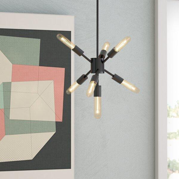 Fairways 7-Light Sputnik Chandelier by Langley Str