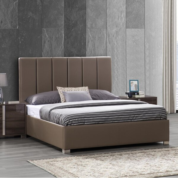 Spiller Split Line Upholstered Platform Bed by Brayden Studio