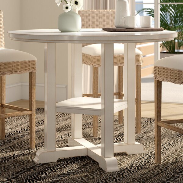 Silver Springs Counter Height Dining Table by Beachcrest Home