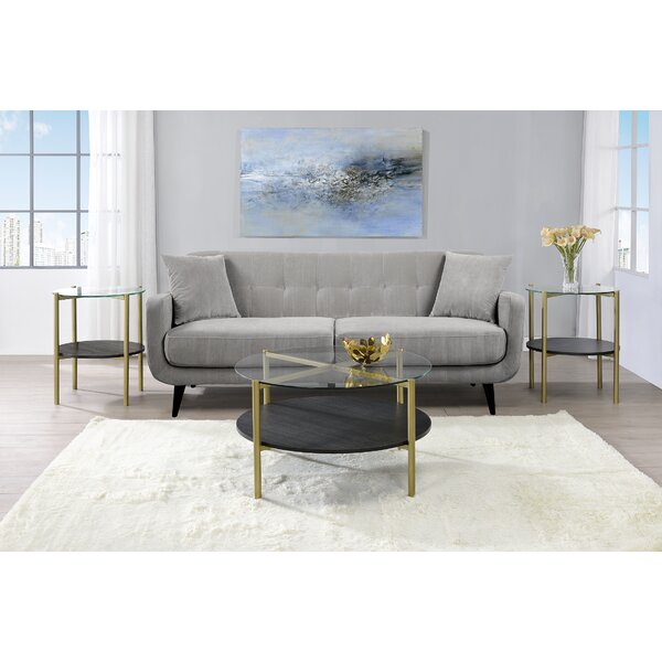 Daugherty 3 Piece Coffee Table Set by Mercer41 Mercer41