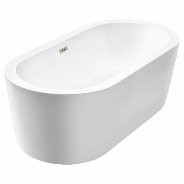 Freestanding 66.75 x 31.75 Bathtub by LessCare