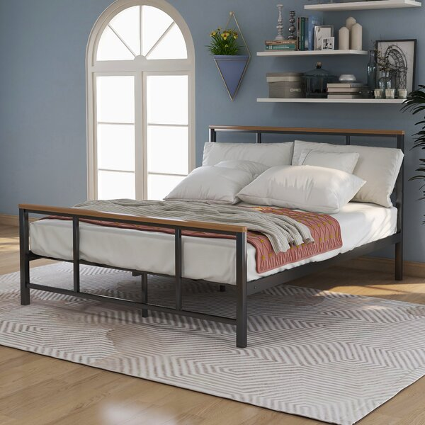 Peluso Metal Platform Bed by 17 Stories