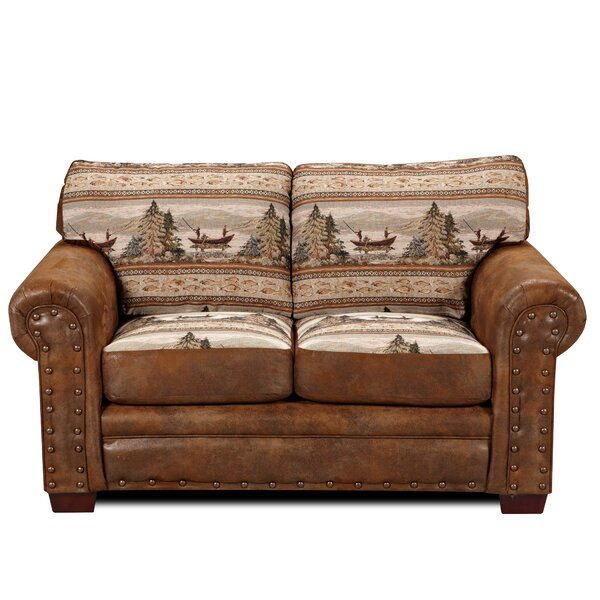 Charlie Alpine Loveseat by Millwood Pines