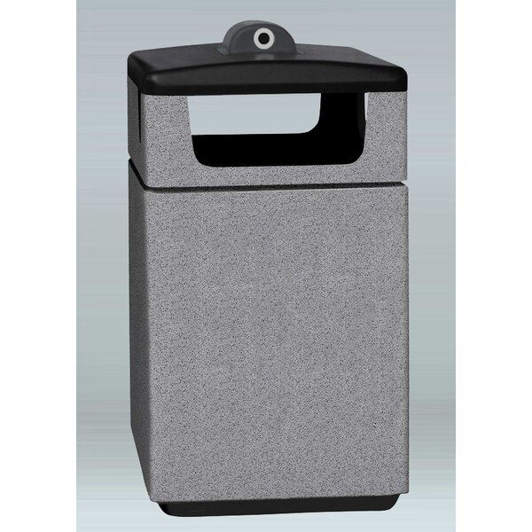Boulevard 60 Gallon Trash Can by Allied Molded Products