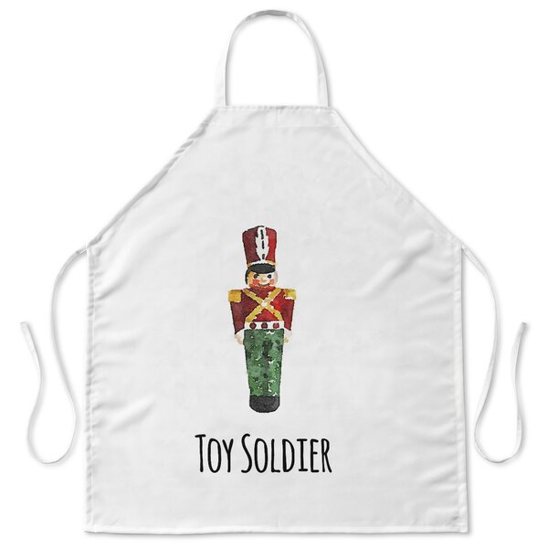 Toy Soldier Apron by KAVKA DESIGNS
