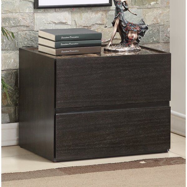 Ewell 2 Drawer Nightstand by Ivy Bronx