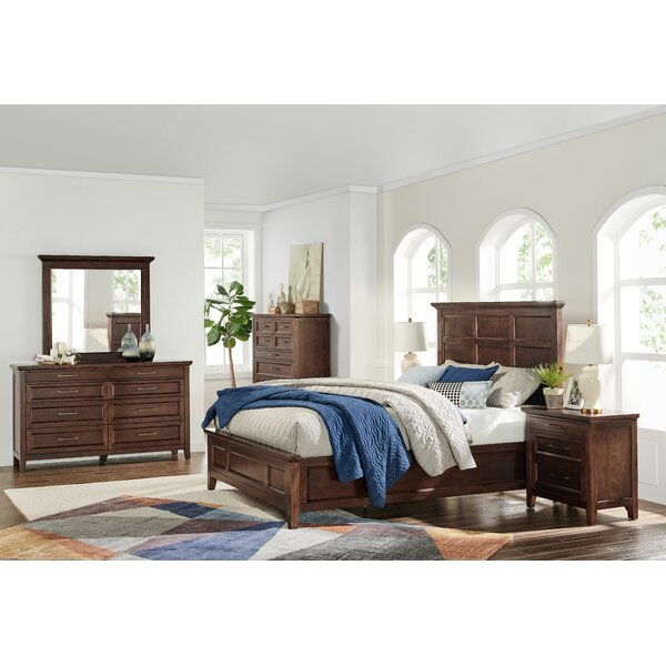 Villalba Panel Standard Configurable Bedroom Set by Foundry Select